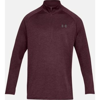 Under Armour Tech 1/2 Zip Longsleeve, Red (600), S