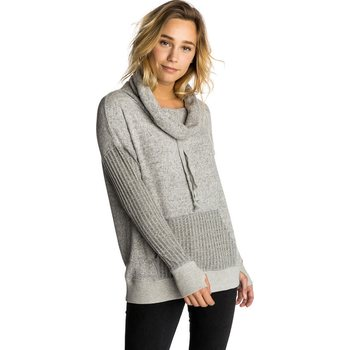 Rip Curl Sunday Sun Hooded Fleece, Cement Marle, S