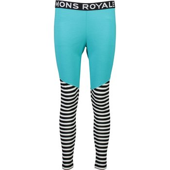Mons Royale Christy Legging W, Tropicana / Thick Stripe, XS