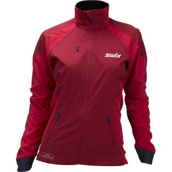 Swix ProFit Revolution Jacket Womens, Swix Red, S