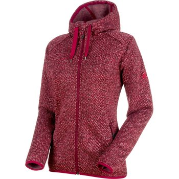 Mammut Chamuera ML Hooded Jacket Women, Dark Beet, S