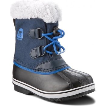 Sorel Childrens Yoot Pac Nylon, Collegiate Navy / Super Blue, 25