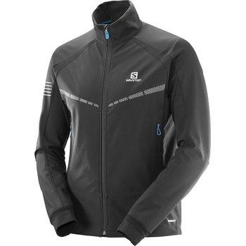 Salomon RS Warm Softshell JKT M, Black, M