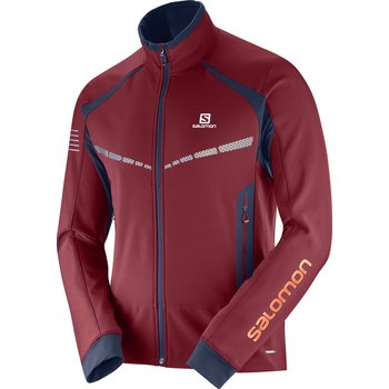 Salomon RS Warm Softshell JKT M, Biking RE/NIGHT, M