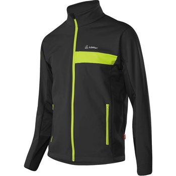 Löffler Jacket Windstopper Softshell Warm Men, Steingrau, 52