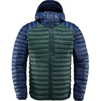 Haglöfs Essens Mimic Hood Men, Mineral / Tarn Blue, S