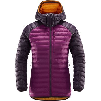 Haglöfs Essens Mimic Hood Women, Lilac / Acai Berry, S