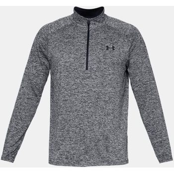 Under Armour Tech 1/2 Zip Longsleeve, Black (002), M