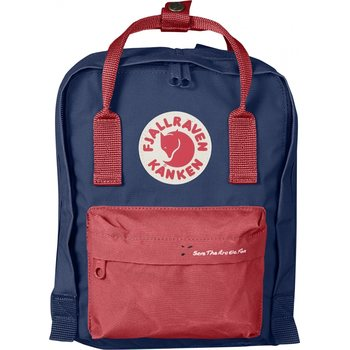 Fjällräven Save the Arctic Fox Mini Kånken, Royal Blue/Peach Pink (540-319)