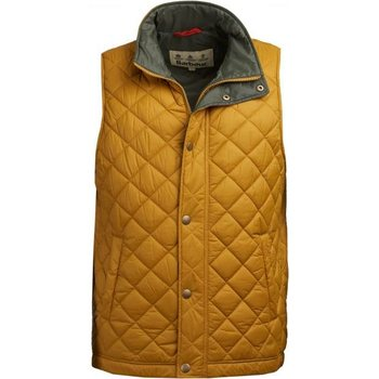 Barbour Ampleforth Quilted Gilet, Lunar Yellow, S