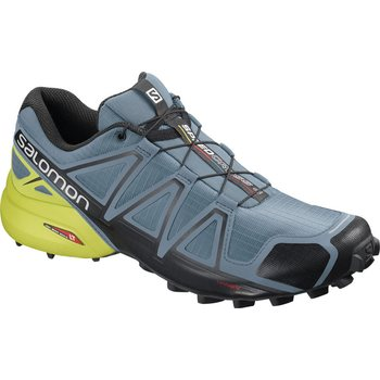 Salomon SpeedCross 4, Bluestone/Bk/Sulphur, EUR 45 1/3 (UK 10.5)