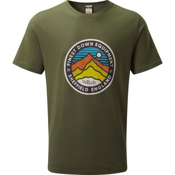 RAB Stance 3 Peaks SS Tee, Army, XL