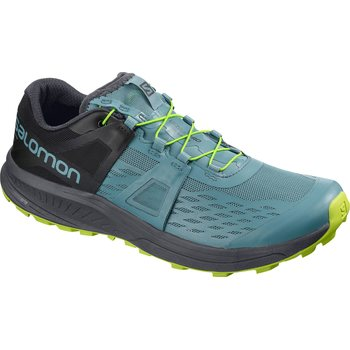 Salomon Ultra Pro, Bluestone/Ebony/Acid Lime, EUR 45 1/3 (UK 10.5)
