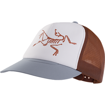 Arc'teryx Bird Trucker Hat, Redox/Proteus/Delos Grey
