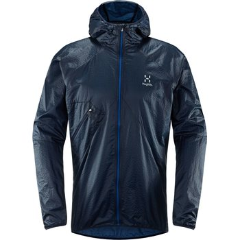 Haglöfs L.I.M Shield Comp Hood Men, Tarn Blue/Storm Blue, S