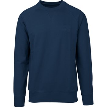 Rip Curl Organic Plain Crew Fleece, Dark Blue, M