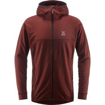 Haglöfs Lithe Hood Men, Maroon Red, S