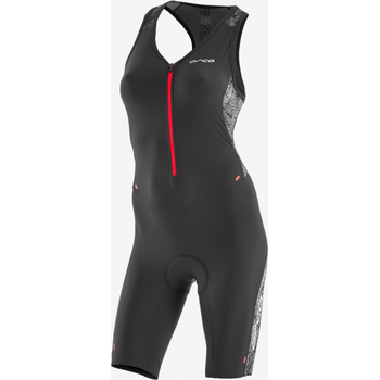 Orca 226 Perform Race Suit Womens, Orange Black, XS / 8