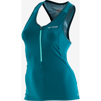 Orca 226 Singlet Top Womens, Aquamarine Navy, M/12