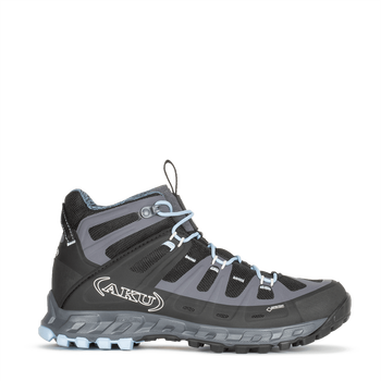 Aku Selvatica Mid GTX W's, Black-Light Blue, EUR 38 (UK 5)