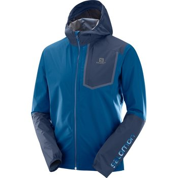 Salomon Bonatti PRO WP Jacket Men, Poseidon/Night Sky, S