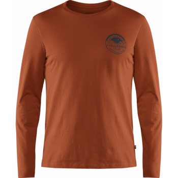 Fjällräven Forever Nature Badge LS T-Shirt M, Autumn Leaf (215), L