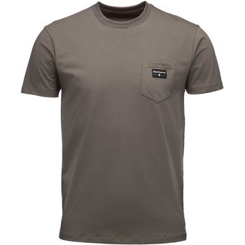 Black Diamond Pocket Label Tee Men's, Walnut, XL