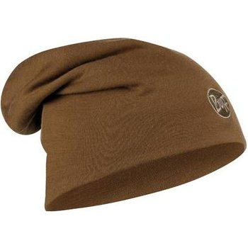 Buff Heavyweight Merino Wool Loose Hat, Solid Tundra Khaki