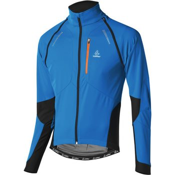 Löffler Bike Zipp-off Jacket San Remo WS Softshell (MS), Mauritius/Carrot, 48