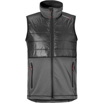 Didriksons Dew Vest, Coal Black, M