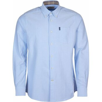 Barbour Oxford 6 Tailored Shirt, Sky Blue, S