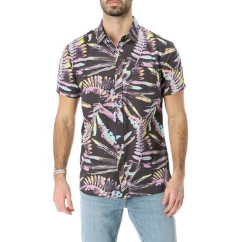 Rip Curl Glitch Short Sleeve Shirt, Black, L
