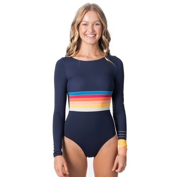Rip Curl Keep On Surfin Long Sleeve Suit, Navy, S