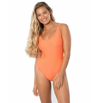 Rip Curl Eco Surf One Piece, Bright Red, L