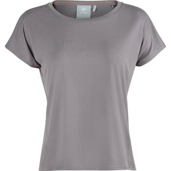 Mammut Pali Cropped T-Shirt Women, Shark Melange, M