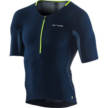 Orca 226 Tri Jersey Mens, Blue Green, M