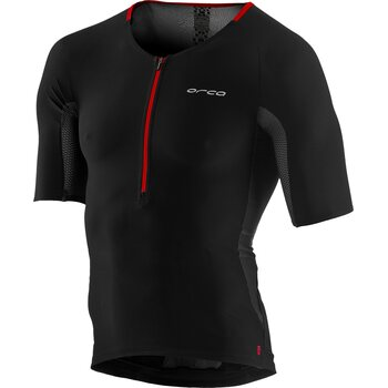 Orca 226 Tri Jersey Mens, Black Orange, M