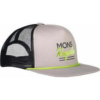 Mons Royale The ACL Trucker Cap, Black / Grey, One Size