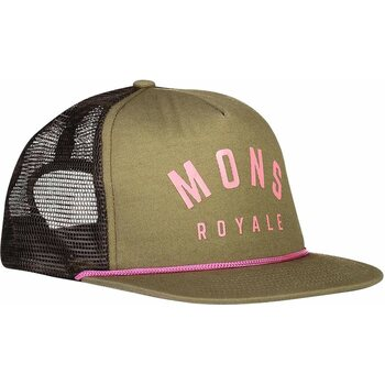 Mons Royale The ACL Trucker Cap, Khaki Rose, One Size