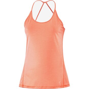 Salomon Comet Tank Women, Papaya/Peach Nectar/Heather, M