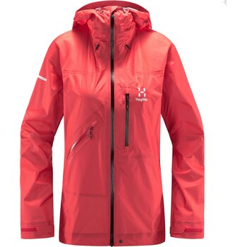Haglöfs L.I.M Crown Jacket Women, Hibiscus Red, S