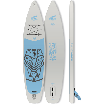 Indiana SUP 10'6 Family Pack, Grey