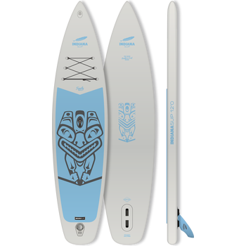 Indiana SUP 12' Family Pack, Grey