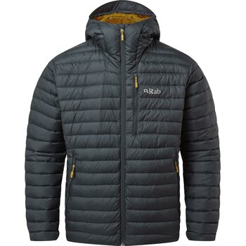 RAB Microlight Alpine Jacket Men, Beluga, S