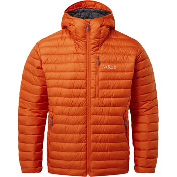 RAB Microlight Alpine Jacket Men, Firecracker, M