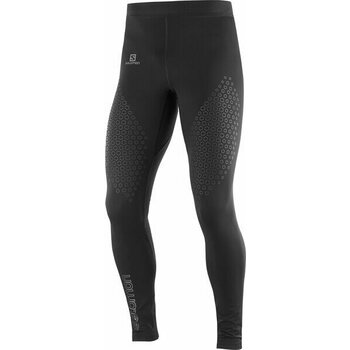 Salomon Exo Motion Long Tight Mens, Black, S