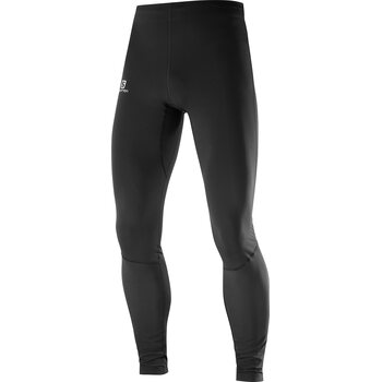 Salomon Agile Warm Tight Mens, Black, S
