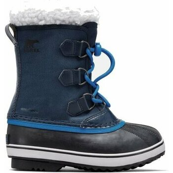 Sorel Youth Yoot Pac Nylon, Collegiate Navy / Super Blue, 36 (US 4.5)