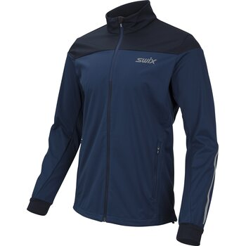Swix Cross Jacket Mens, Estate Blue, XL