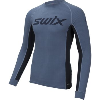 Swix RaceX bodyw LS Mens, Blue Sea, S